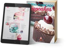 Curso Avançado de Cupcakes – Venda e-book Online – Tudo de Cake
