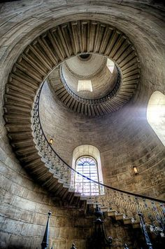 Spiral Staircase, London, England