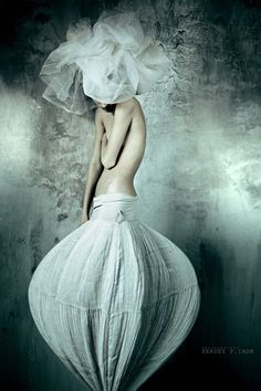 spring tulip | Sergey P. Iron | #couture | #fashion by That Long Hair Girl