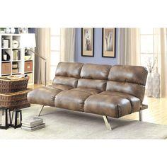 Furniture Of America Dupree Futon Sofa CM2671 For $269