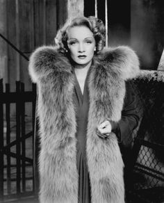 Marlene Dietrich, 1942, in a publicity photo for Pittsburgh, a film about wealth and power in the steel industry.