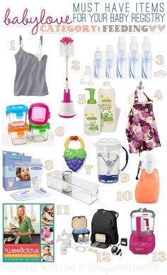 KA's List Of Must-Have Baby Registry Recommendations: Feeding/Nursing Items