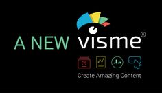 Create amazing visual contents like presentation and infographics with Visme's newest version.