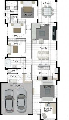 205 best House Plans - Design Ideas images on Pinterest   House ...