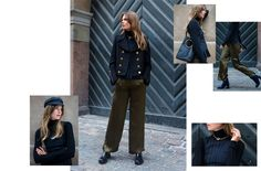 My Style Rules | How to style FW16's military pieces, whatever your style | Magazine | NET-A-PORTER.COM