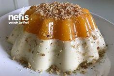 Portakallı İrmik Tatlısı Sweet Recipes, Cake Recipes, Dessert Recipes, Turkish Recipes, Ethnic Recipes, Pasta Cake, Pumpkin Squash, Frozen Yogurt, Puddings