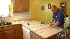 Hear what Roxanne & Thom have to say about Granite Transformations' installation process.