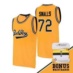 b30f70a5be27  BadBoy   72 Smalls Basketball  jersey  basketball jersey  movie jerseys   aflgo
