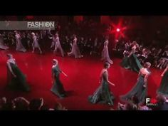 """Elie Saab's inimitable style never disappoints.  """"ELIE SAAB"""" Haute Couture Autumn Winter 2013 2014 Paris HD by Fashion Ch..."""