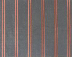 neon orange & grey flat weave rug, Oliver Yaphe