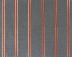 neon orange & grey flat weave rug, Oliver Yaphe