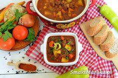 Gulyásleves, węgierska zupa gulaszowa