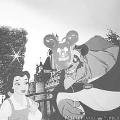 Belle and the Beast | 7 Disney Couples Enjoying Date Night At Disney
