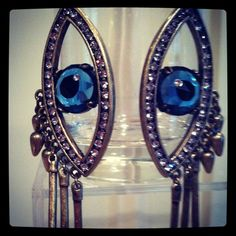 Let's Bring Back by Lulu Frost Spring 2013: All-seeing eye earrings - part of a collection celebrating Surrealist designer Elsa Schiaparelli.