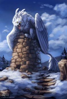Snow guardian by Azany