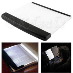 New Portable LED Read Panel Light Book Reading Lamp Night Vision For Travel #UnbrandedGeneric