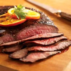 Garlic and Herb Grilled Flank Steak