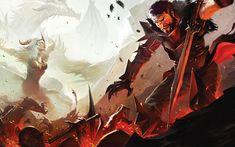 Flemeth & Hawke - Pictures & Characters Art - Dragon Age II
