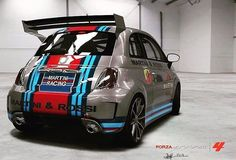 Fiat 500 Fiat Cinquecento, Fiat Abarth, 500 Madness, Automobile, Fiat 500 Pop, Weird Cars, Crazy Cars, Austin Cars, Martini Racing