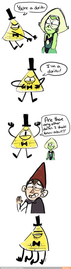 Doritos!<<< everyone forgets the original Dorito: Phineas.