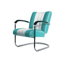 #sedie #chairs #lounge chairs LC-01 Turquoise