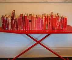 ironing board - book shelf