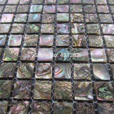 Abalone shell green mosaic tile,kitchen backsplash tiles;mother of pearl mosaic tiles,green abalone mosaic ;backsplash tile(China (Mainland))