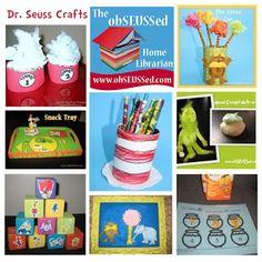 275+ Dr. #Seuss Celebration Ideas at obSEUSSed #ReadAcrossAmericaDay #Crafts
