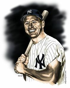 a biography of mickey mantle a baseball player Over the weekend i started reading jane leavy's biography on mickey mantle mantle makes him untouchable by any player there will never be another mickey mantle.