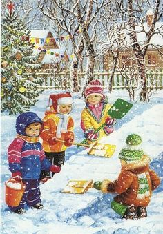 Pussycatdreams - Page 21 Winter Gif, Winter Images, Winter Scenes, Winter Hats, Christmas Scenes, Merry Christmas And Happy New Year, Winter Christmas, Christmas Time, Holiday