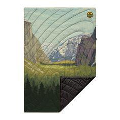 Original Puffy Blanket Yosemite | Park Blanket | Rumpl Grand Canyon National Park, Yellowstone National Park, National Parks, Blanket Fort, Outdoor Blanket, Easy Rider, Park Service, Recycle Plastic Bottles, The Originals