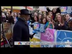 Alpha Xi Deltas at The Today Show on World Autism Awareness Day 2013