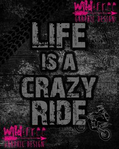 Wild and Free Graphic Design wants to interact with all you Bad A** motocross guy and girls so we are now introducing printable quotes to our line of products and what better way to start it than with grunge and dirtbikes! If you are interested in this quote click on the quote and buy it from us on our Etsy account. BE WILD & FREE!