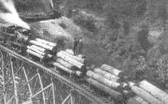 horse skidding logs west virginia  | Many West Virginians can warmly recall hearing the train's whistle ...