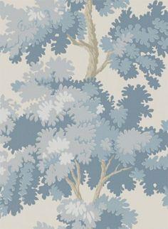 Baumtapete Raphael aus NY Stories von Sandberg - Blue
