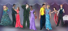 Magic School Bus characters at the Prom. Arnold is hilarious.
