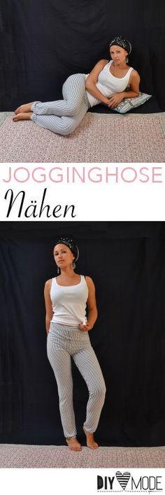 Freebie: gemütliche Hose aus Jersey nähen / Jogginghose selber machen