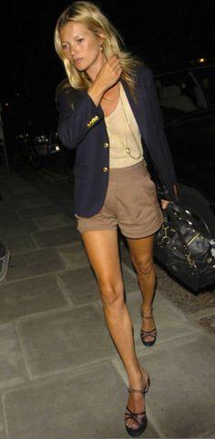 Classic tan + Navy - Kate Moss