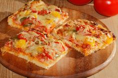Zemiakový koláč s oblohou Hawaiian Pizza, Vegetable Pizza, Quiche, Mashed Potatoes, Eggs, Vegetables, Breakfast, Ethnic Recipes, Food