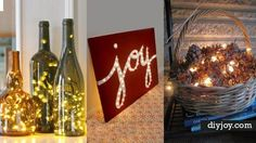 31 Impressive Ways To Use Your Christmas Lights | DIY Joy Projects and Crafts Ideas