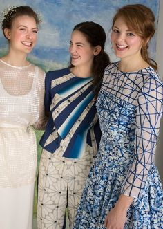 """Smithsonian Craft2Wear's spotlight artist is Ann Williamson with her eye for the fabulous possibilities of vintage fabrics. Her goal-- """"to create clothing as unique as the women who wear them."""" For tickets to this year's show on Oct 6-8, 2016, visit smithsonianassociates.org/craft2wear."""