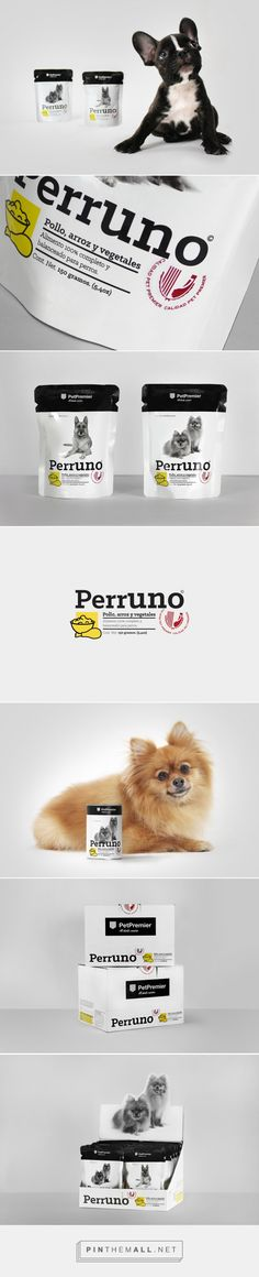 Bienal | Comunicación - Pet Premier packaging  PerrUNO curated by Packaging Diva PD. Makes me want to buy dog food and I don't even have a dog : )