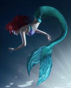 Ariel cosplay by ValeriyaDarkElf. on Ariel cosplay by ValeriyaDarkElf. Fantasy Mermaids, Real Mermaids, Disney Little Mermaids, Mermaids And Mermen, Ariel Mermaid, Mermaid Fairy, Ariel The Little Mermaid, Mermaid Tale, Mermaid Artwork