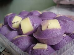 Cinniejen's Puto de Ube | Panlasang Pinoy - I have no idea what these are but don't they look cool!