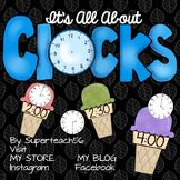 It's All About Clocks  SPECIAL EDUCATION -Hours and Half-Hours