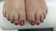 Seashells toes