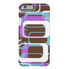 Retro Funky Cool Geometric Squares iPhone 6 Case