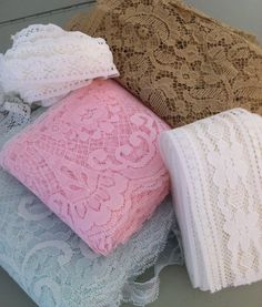 3 Yard Bulk Lace Listing Mix and Match You choose by retrochique, $4.99