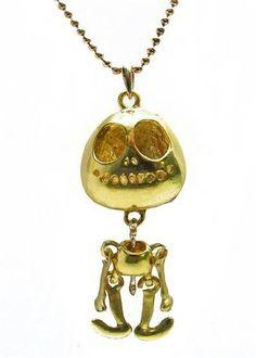 Skeleton pendant.