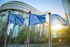 Places to see - European Union building The infrastructure of the EU headquarters is divided into three big institutions: the European council, the European Commission and the European parliament. Audio guided visits are available and visitors may attend a parliamentary sitting.